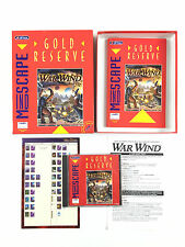 Jeu War Wind Sur PC Big Box / Boite Carton