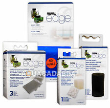 Fluval Edge Media Pre-Filter, Biomax, Clean & Clear Carbon, Algae Clear Aquarium
