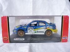 """Polistil 2002 Subaru Impreza WRX """"Arai""""Australia 1:32 - 1/32ème en boîte"""