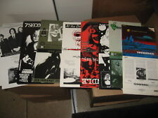 """200+ Punk 7"""" Record Sleeve Wholesale LOT Metal Private Label UNFOLDED new ART"""