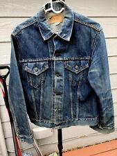 Vintage Levi's Big E Denim Jean Jacket 40/42� Trucker