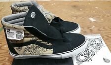 "Vans X Mr. Cartoon Syndicate ""S' Industrial Sk-8 Hi Khaki 2007 Size 12 wtaps"
