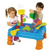 Sandbox Sand and Water Table Beach Toys Set Beach Play Table Sand Children