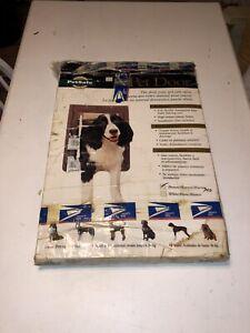 PetSafe Plastic Large Dog Pet Door Dogs 1-100 Lbs Brown