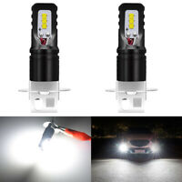Nighteye 2X H3 1600LM LED lampe ampoules antibrouillard 160W 6500K Super Blanc