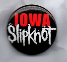 SLIPKNOT - IOWA -  BUTTON BADGE American Heavy Metal Rock Band - Duality 25mm