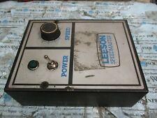 LEESON Speedmaster Minarik 3299 DC Motor Speed Controller 115/230VAC *PARTS*