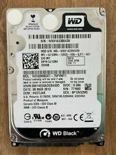 Western Digital BLACK 2.5 WD 320GB HDD SATA 7200RPM Laptop Hard Drive