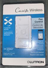 lutron Caseta Wireless Smart Fan Speed Control, Single-Pole, White
