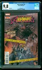 New Avengers 9 CGC 9.8 NM/M American Kaiju (Todd Ziller) Leinil Francis Yu cover