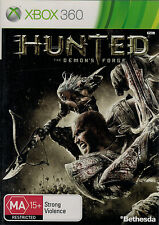 Hunted the Demons Forge, Microsoft Xbox 360 game Complete, USED