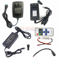 DC 12V 2A/3A/5A Power Supply Adapter Charger Transformer for 3528 5050 LED Strip