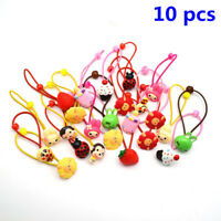 Lots 10pcs Elastic Hair Band Children Candy Color Headbands Ropes Girls Headwear