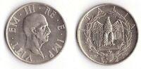 1936 Vittorio Emanuele III Lire 2 Impero Rara Nichelio Discreta Conservazione.