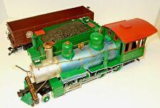 BACHMANN G SCALE BIG HAULER 3 CAR TRAIN SET LOCOMOTIVE, COAL CAR & FREIGHT CAR