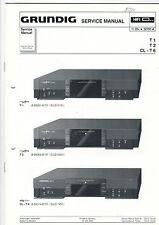 Grundig Service Anleitung Manual T 1/ T 2/ CL-T 6   B381