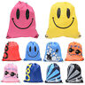 Drawstring Backpack Gym PE Bag Swim School Sports Shoe Dance Kid Girl Waterproof