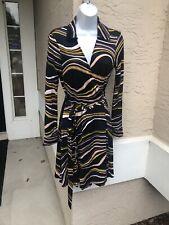 Diane von Furstenberg Jeannie Wrap Dress Size 10