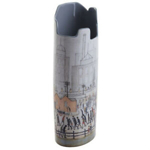 John Beswick Vase Silhouette D'art Lowry Coming From The Mill Northern Scene