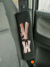 Car Seat Belt Shoulder Cover Pads For Vw Golf Polo Beetle & Transporter