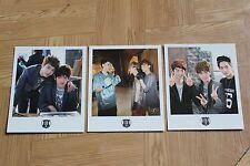 EXO EXO-K Byun Baekhyun D.O Suho Kai Wolf official polaroids from SM Everysing