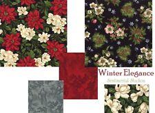 WINTER ELEGANCE FAT QUARTER BUNDLE Moda Fabric FQs or Yardage on Muliple purchas
