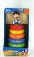 DISNEY BABY MICKEY STACKING RINGS 12+ AGE - BRAND NEW IN BOX