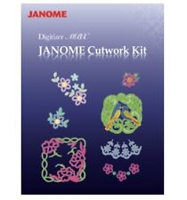 Janome Cutwork Kit - Digitizer MBX V4.0 V4.5, Needles Software Memory Craft DVD