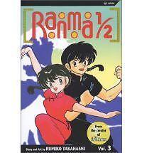 Ranma 1/2: Ranma 1/2 Vol. 3 by Rumiko Takahashi (2003, Paperback)