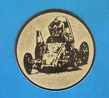 20 Embleme D:50mm Seifenkiste (Medaillen Pokale Pokal Emblem Turnier Auto NEU)