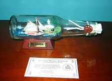 """7"""" Long Ship in a Bottle- SLOOP FOX from FLORIDA New OLD Stock"""