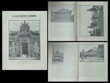 CONSTRUCTION MODERNE n°11 1931 EXPOSITION COLONIALE, PALAIS INDES NEERLANDAISES