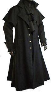 Kutscher Mantel Gehrock Gothic Mittelalter Vampir - Claw M L XL XXL