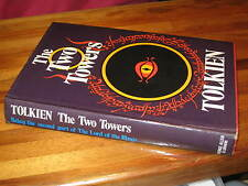 The TWO TOWERS -  J. R. R. Tolkien  VINTAGE HbDj 1974  *We have ALL 3 in trilogy