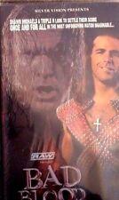 WWF WWE Bad Blood 2004 VHS Orig nouveau de catch Shawn Michaels Vs Triple H