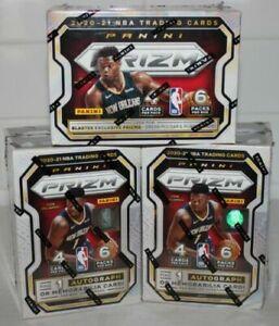 MEMPHIS GRIZZLIES 2020-21 PRIZM NBA 3 BLASTER BOX BREAK #4