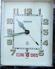 vintage rare voyage horloge triple date 8 jours jaeger lecoultre