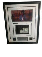 Scarface Rare Shadowbox Framed Picture W/ Replica Gun Bullets and Cash 20×24×3