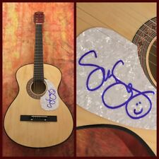 GFA From a Table Away * SUNNY SWEENEY * Signed Autograph Acoustic Guitar COA