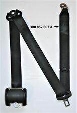 VW Passat Mk5.5 cinturón de seguridad de los pasajeros traseros lado medio techo negro 3B0 857 807 a
