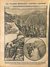 Italia Soldiers Italy Mont Cimone Zonezza Avisio Trente Trentino-Alto  1916 WWI