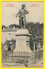 cpa SOUVENIR de BOUFARIK Statue du SERGENT BLANDAN du 26e RI Armée d'Afrique