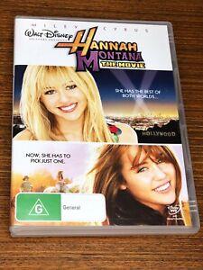 Hannah Montana - The Movie (DVD, 2009) Very Good Condition Region 4