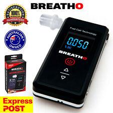 Breatho Personal Fuel Cell Breathalyser. Police Grade Fuel Sensor.