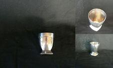 coquetier gallia en métal argenté