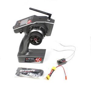 RadioLink RC6GS V2 2.4G GYRO Remote Controller R7FG Receiver for Car Boat Model