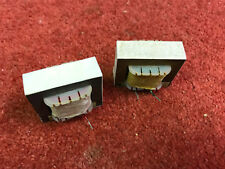 Pair vintage TANNOY speaker crossover inductors 2.25mH Gold HPD 8 ohm (703/704)