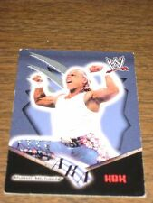 2002 WWE Embossed Shawn Michaels HBK Fleer Trading Card