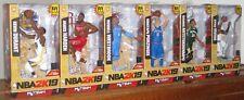 Set of 6 McFarlane NBA 2K19 Series 1 Giannis Antetokounmpo, Figure Harden Irving