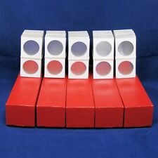 500 Cardboard 2x2 Mylar Coin Holders for Silver Dollars with 5 Storage Boxes